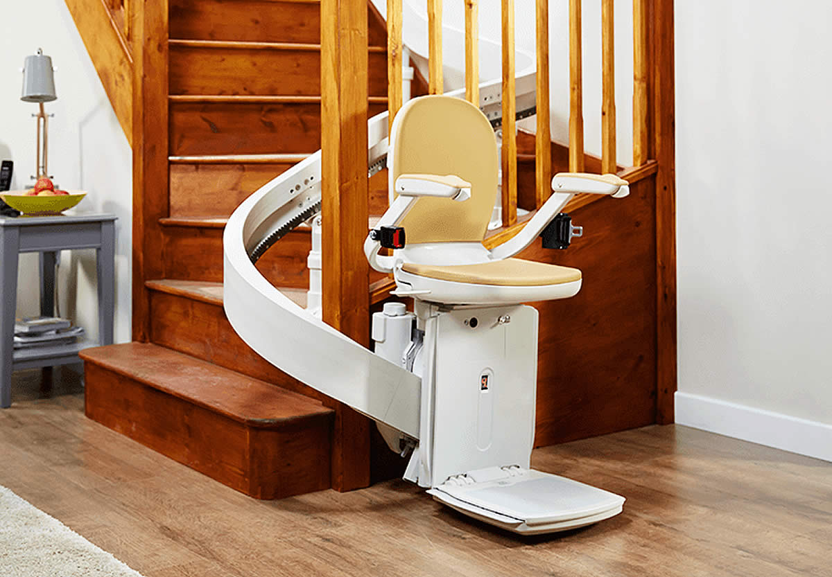 Curved Stairlifts Acorn Stairlifts