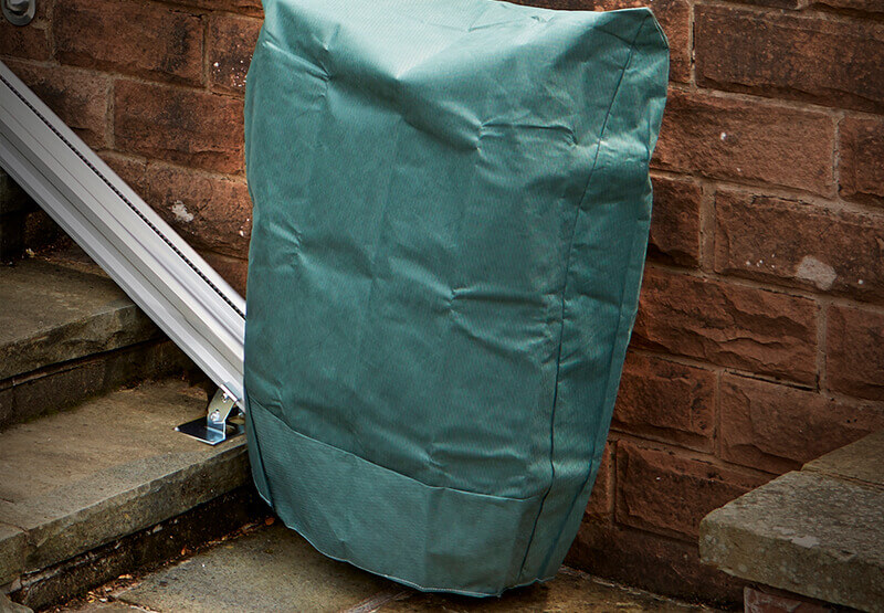 Image of Outdoor stairlift protective cover