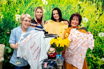 'Power of pyjamas' prompts donation to hospice