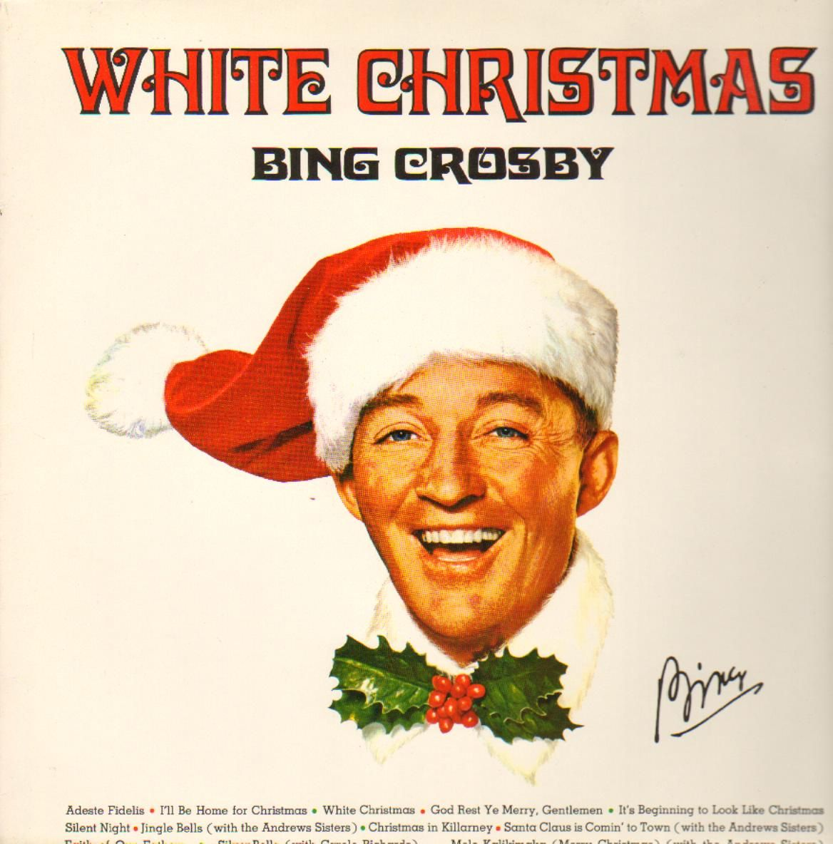 Bing sings all-time best selling Christmas classic