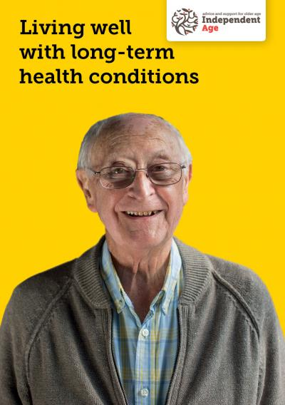 Helpful guide to living with long-term health conditions