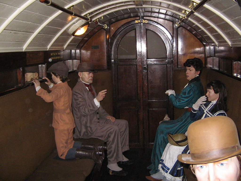 Today in history… first passengers marvel at 'The Tube'