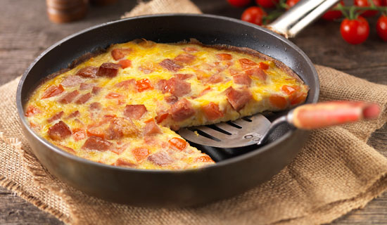 Try this quick and easy SPAM frittata