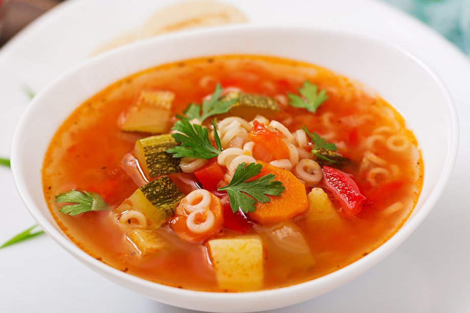 Try this hearty and healthy vegetable soup