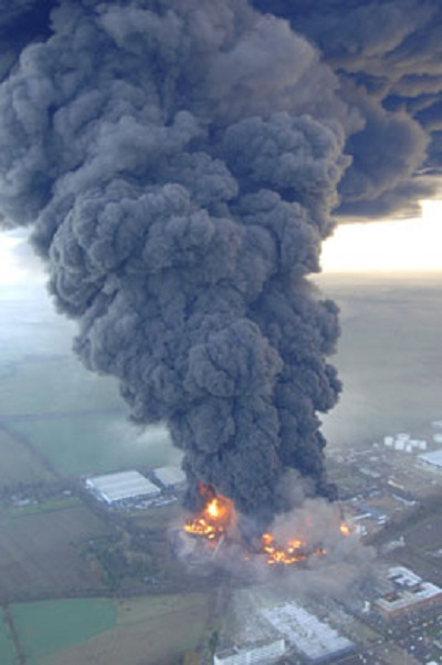 Today in history… oil depot explosion rocks south-east