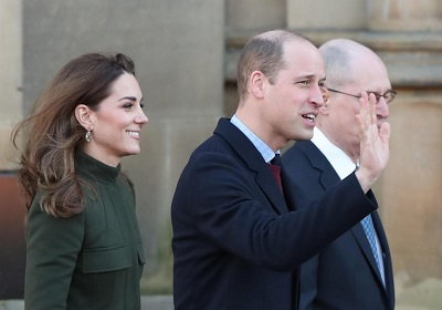 Acorn's birthplace welcomes William and Kate!